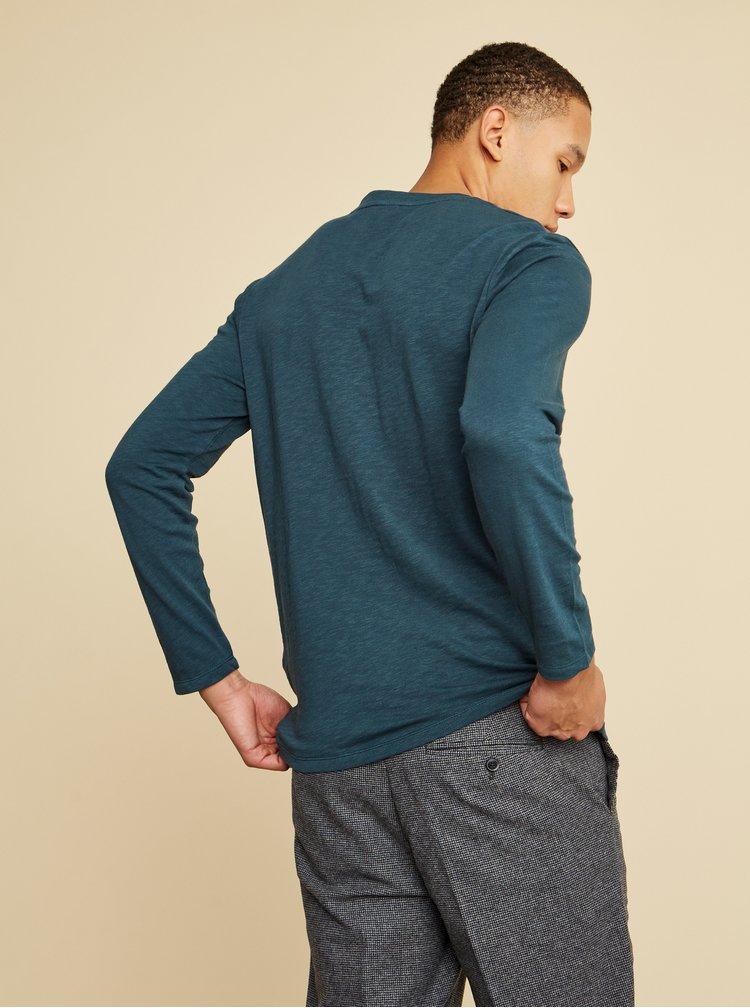 Zelenomodré pánské tričko ZOOT Henri
