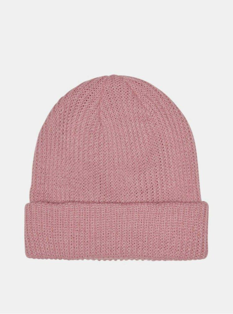 Růžová čepice ONLY