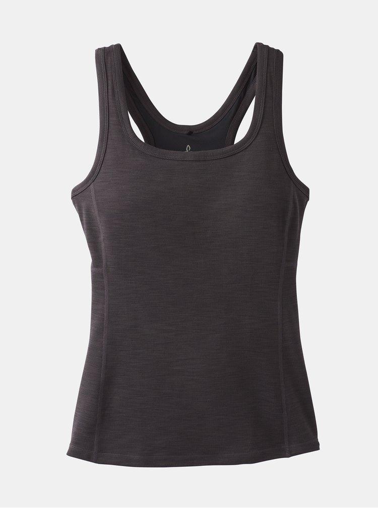 Topuri si tricouri pentru femei prAna - negru