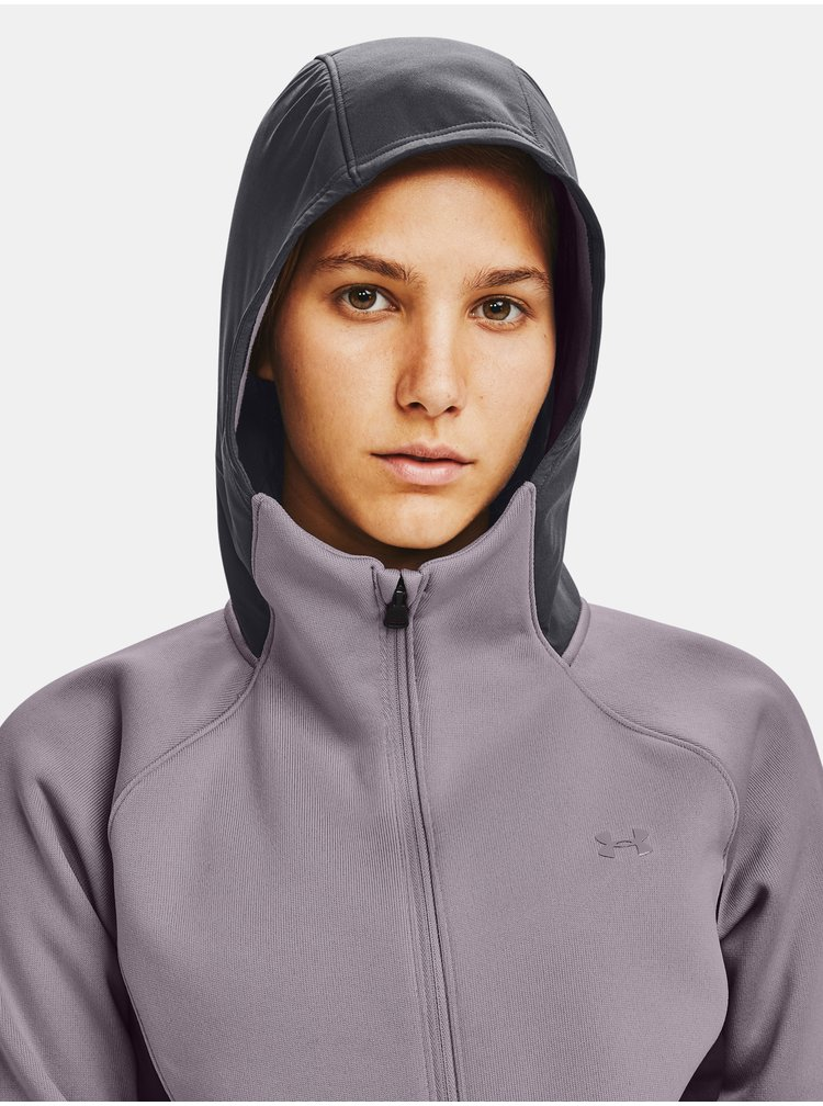 Fialová bunda Under Armour Swacket