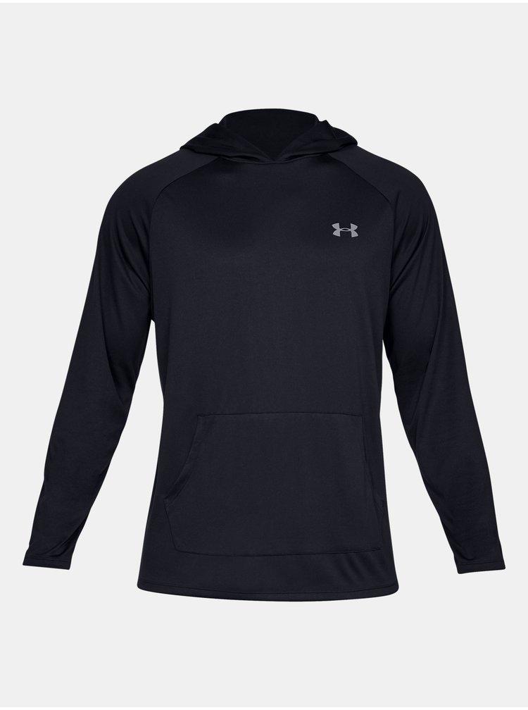 Černé tričko Under Armour Tech 2.0 Hoodie