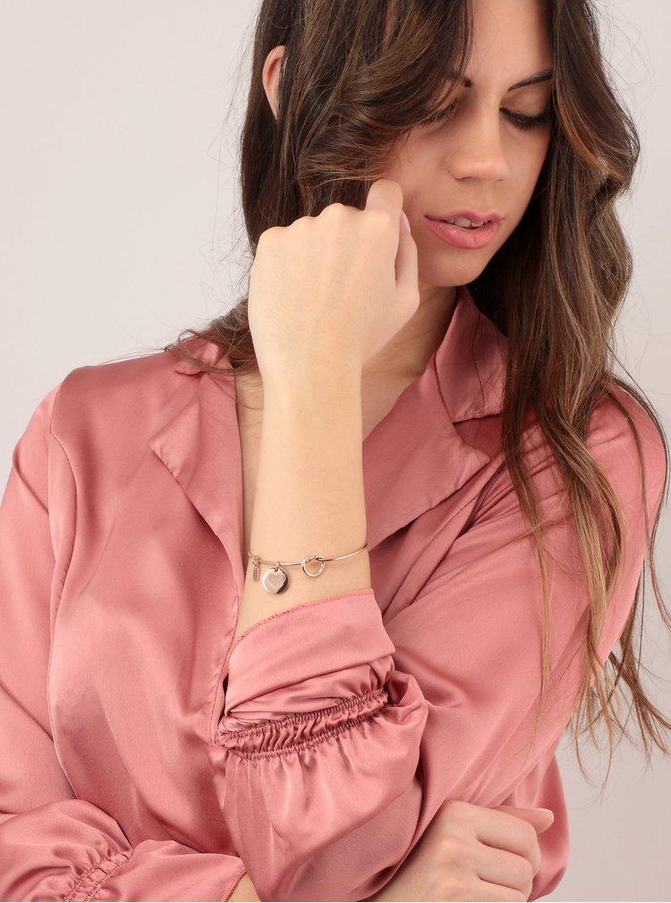 Náramek v růžovozlaté barvě s přívěsky La Petite Story
