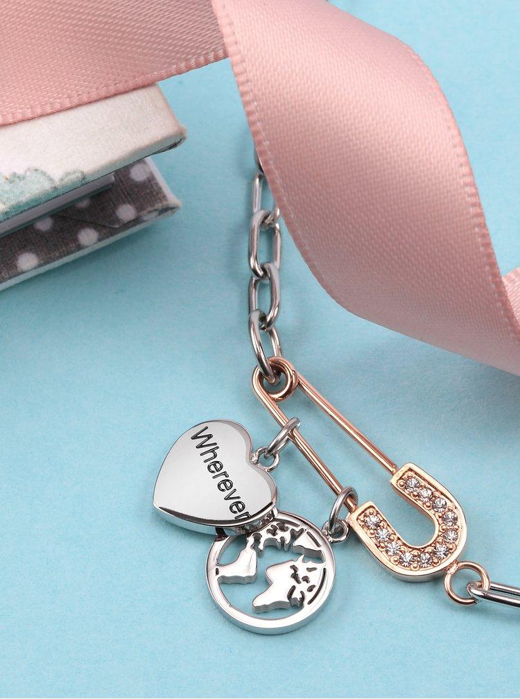 Náramek ve stříbrné barvě La Petite Story