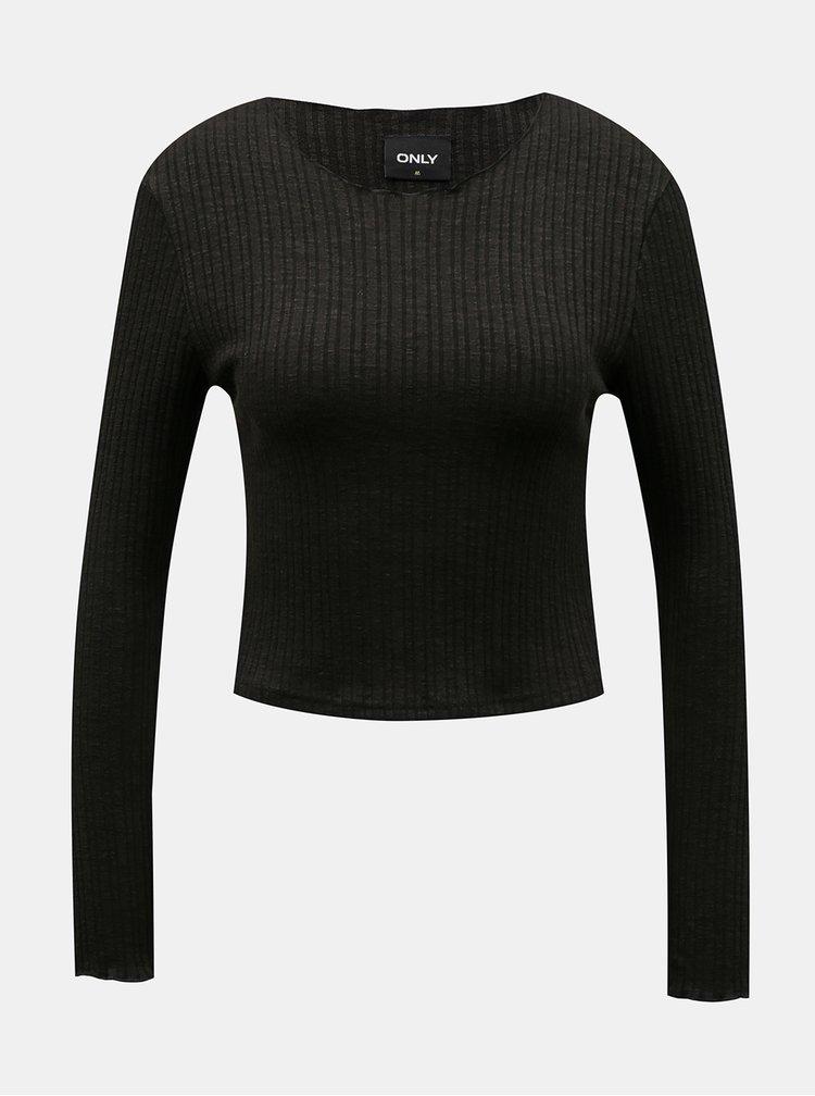 Černé tričko ONLY