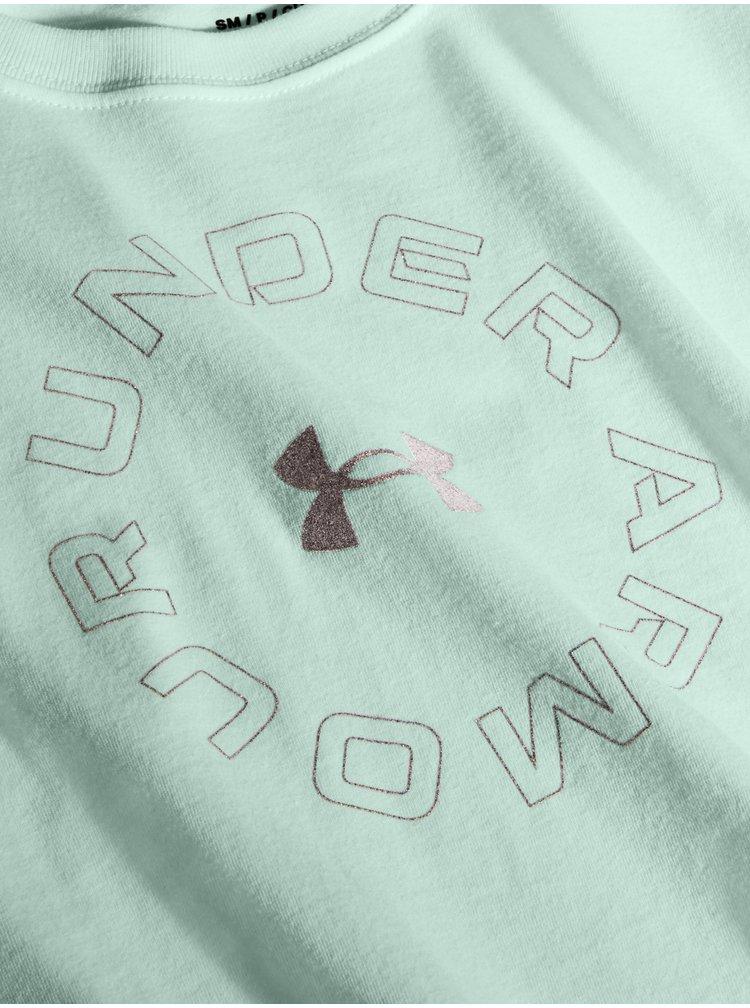Modré tričko Under Armour Live Fashion WM GraphicSS