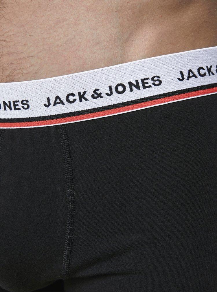 Sada dvou černých boxerek Jack & Jones