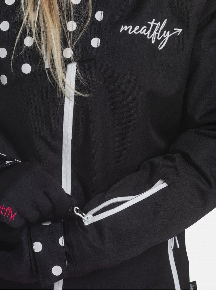 Jachete impermeabile si pelerine de ploaie pentru femei MEATFLY - negru