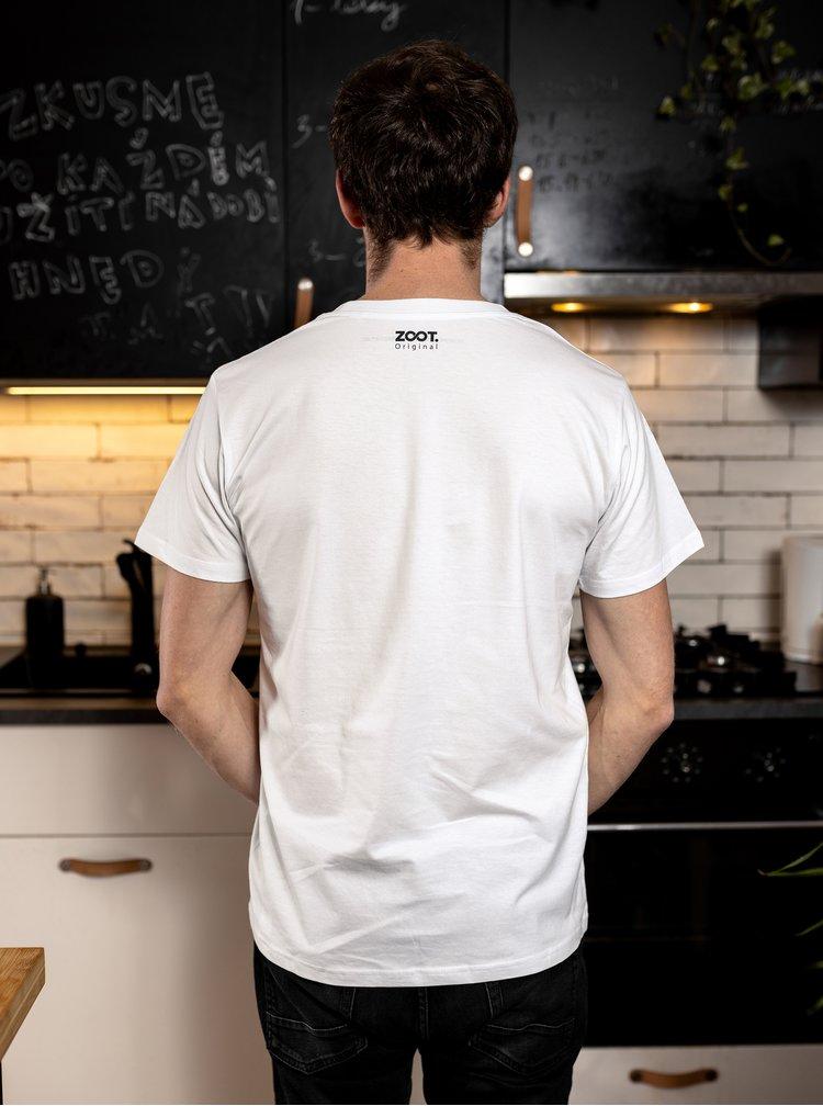 Bílé pánské tričko ZOOT Original Chilli paprička