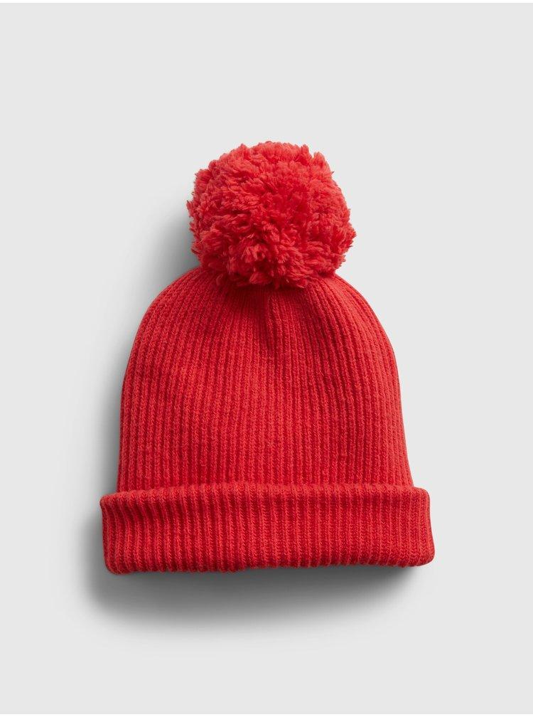 Červená dámská čepice GAP