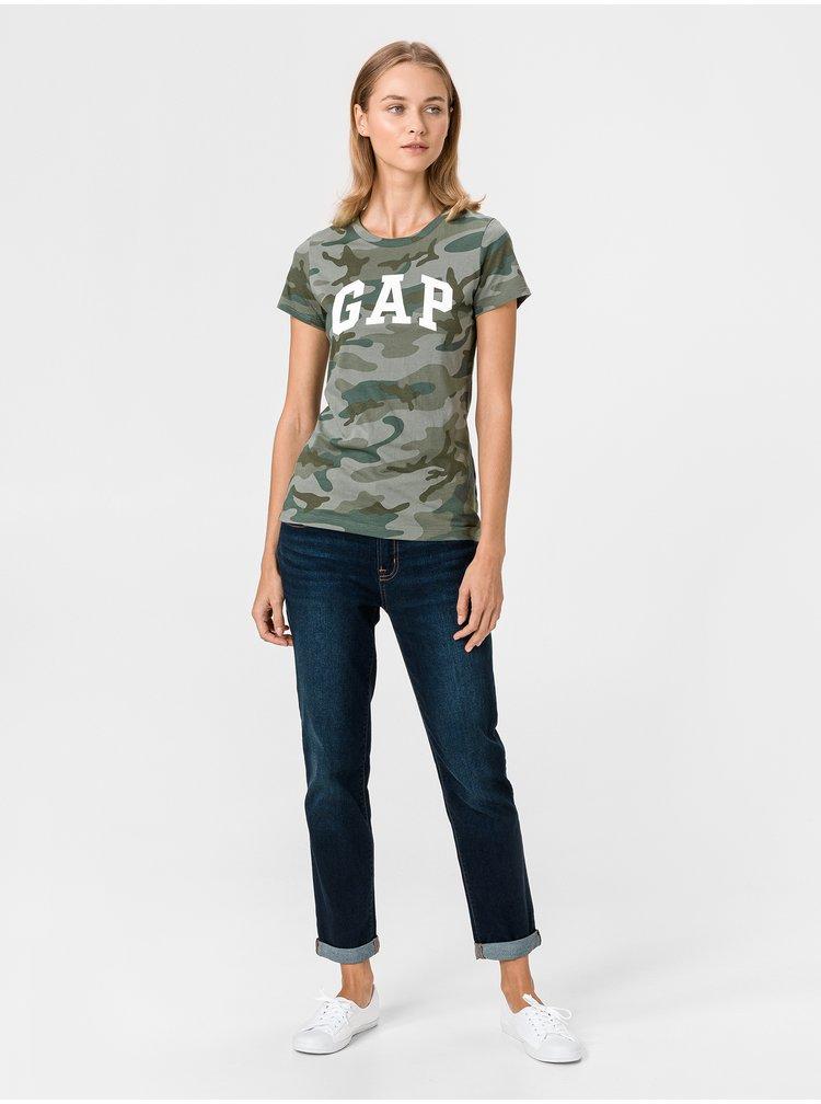 Černé dámské tričko GAP Logo