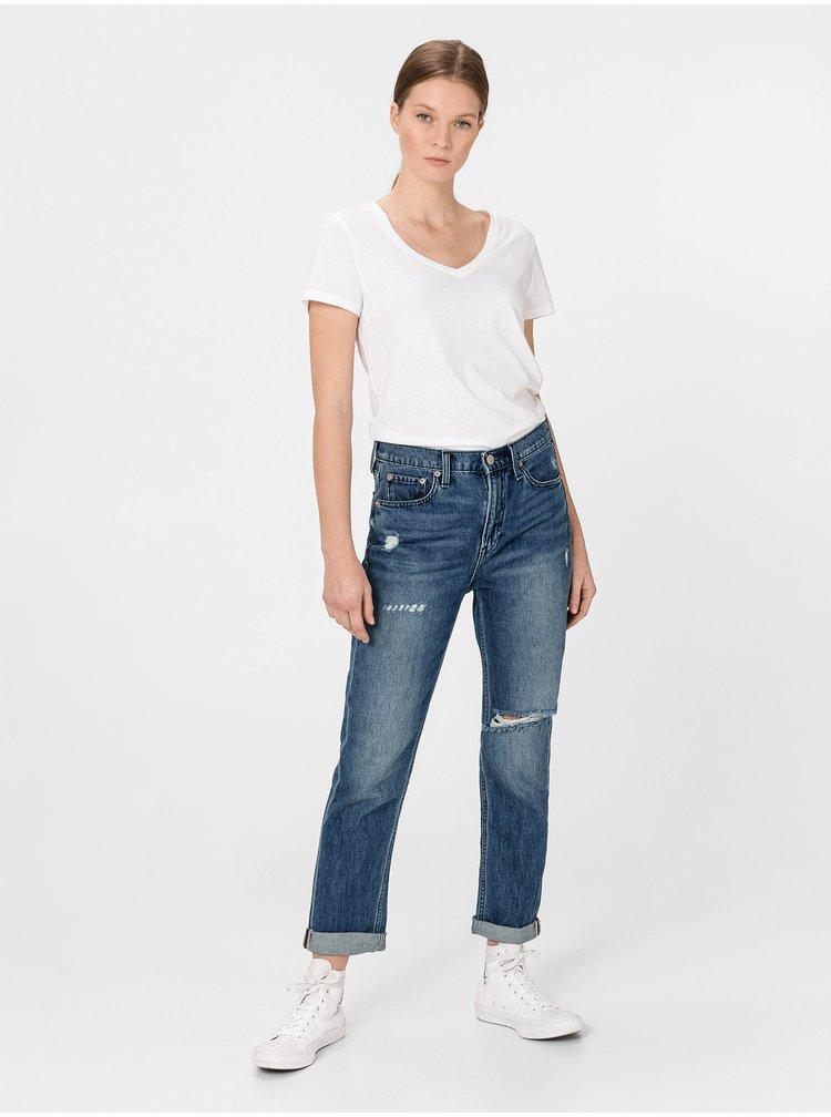 Modré dámské džíny GAP