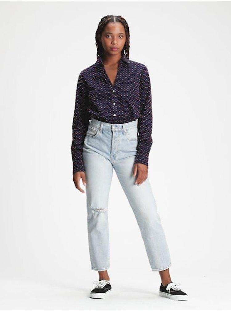 Modrá dámská košile GAP