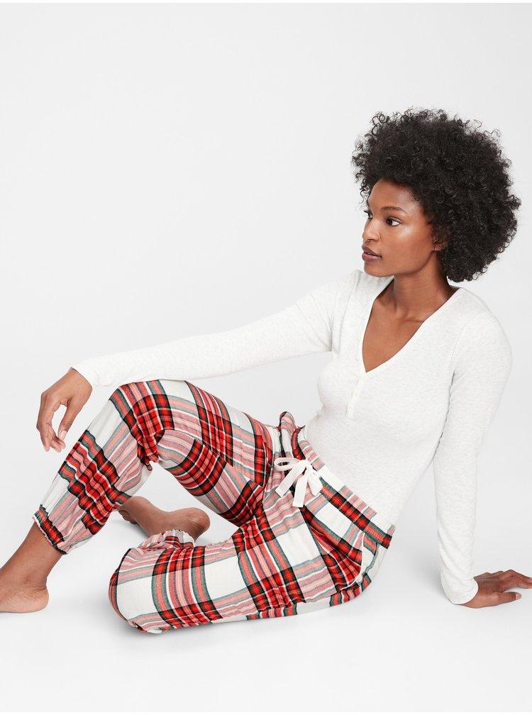 Červené dámské pyžamové kalhoty GAP