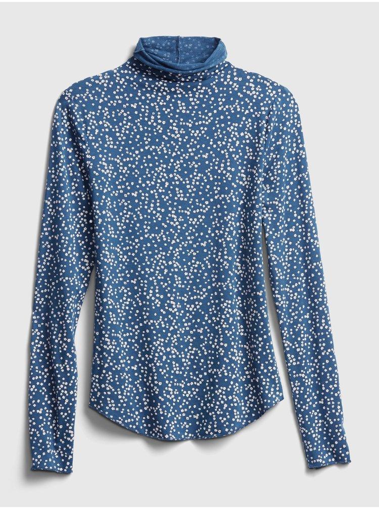 Modré dámské tričko GAP