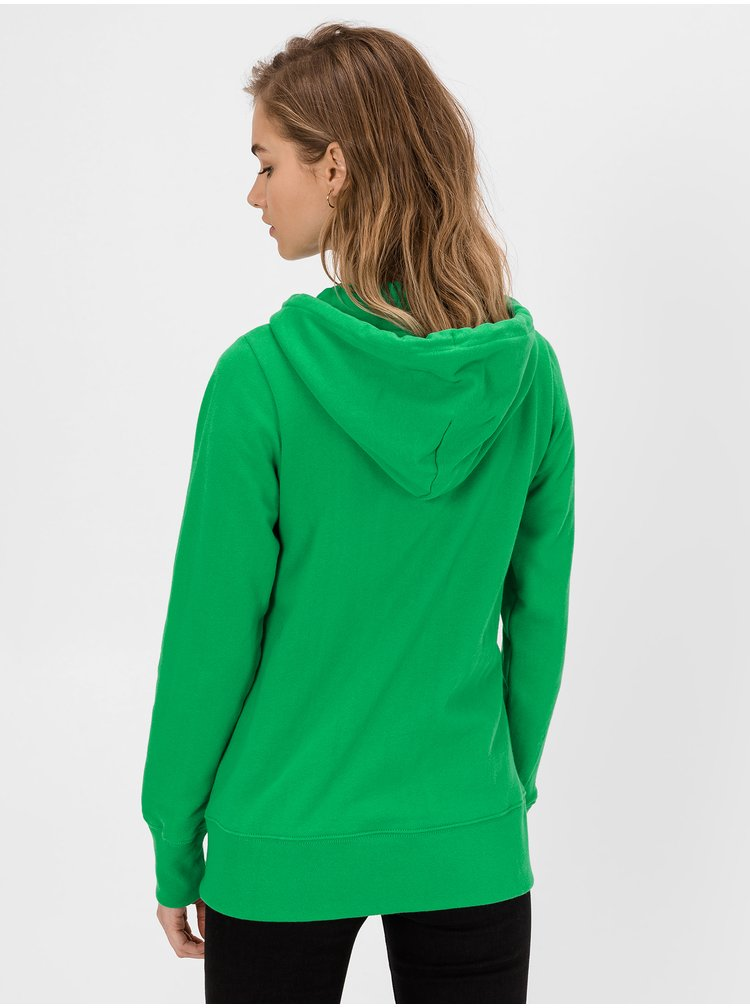 Zelená dámská mikina GAP Logo