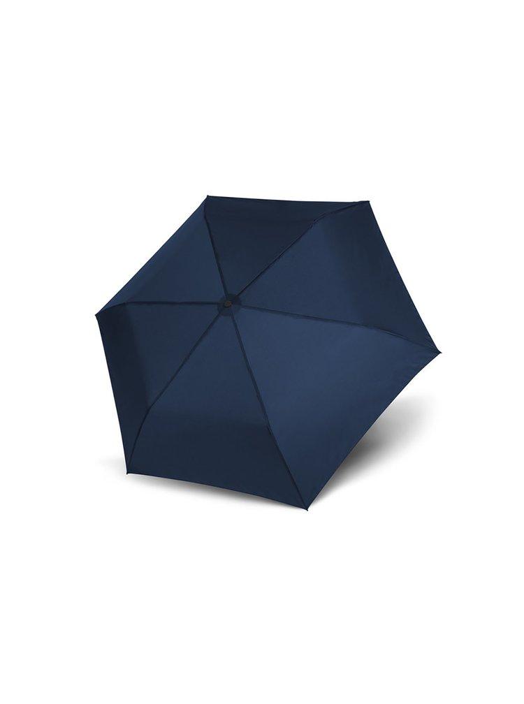 Doppler Zero99 tmavě modrý ultralehký skládací mini deštník - Modrá