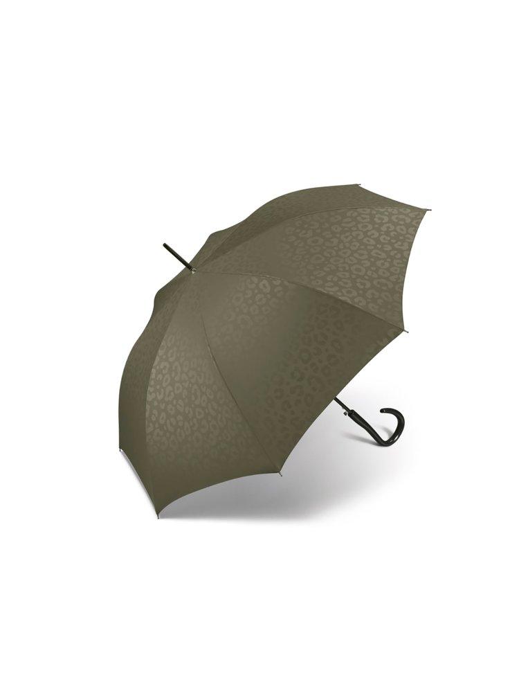 Pierre Cardin Jaguar dámský holový deštník - Olivová