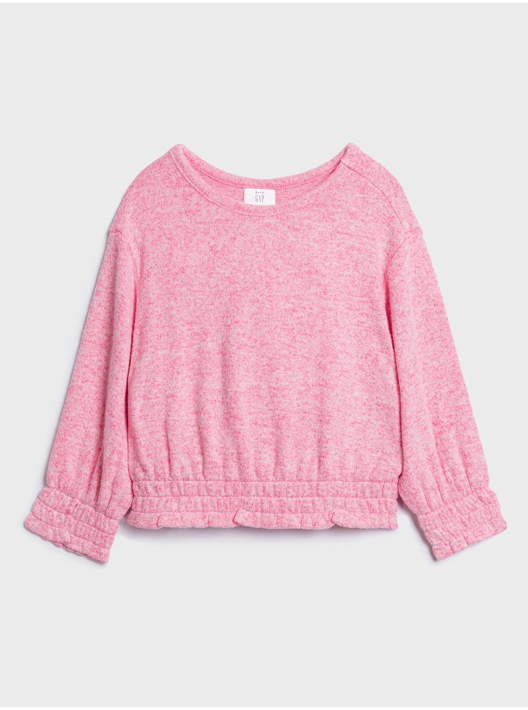 Růžové holčičí tričko GAP