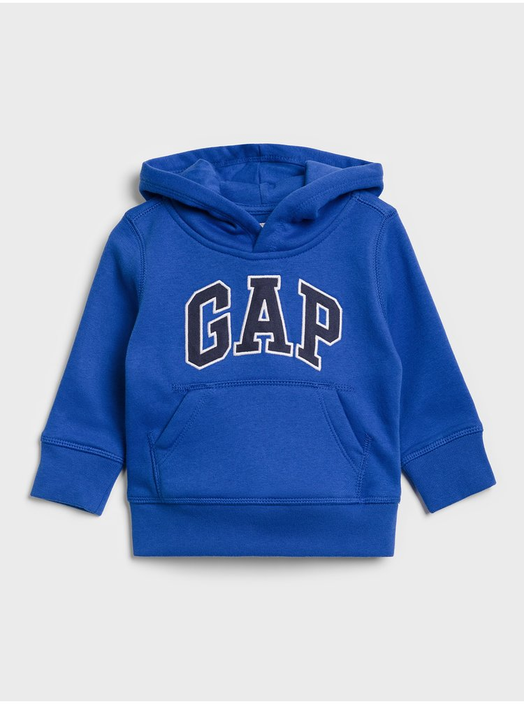Modrá klučičí mikina GAP Logo