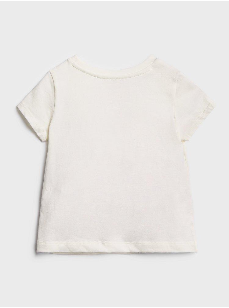 Růžové holčičí tričko GAP Logo 2-Pack