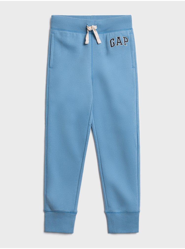 Modré klučičí tepláky GAP Logo