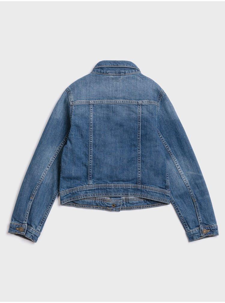 Modrá holčičí džínová bunda GAP