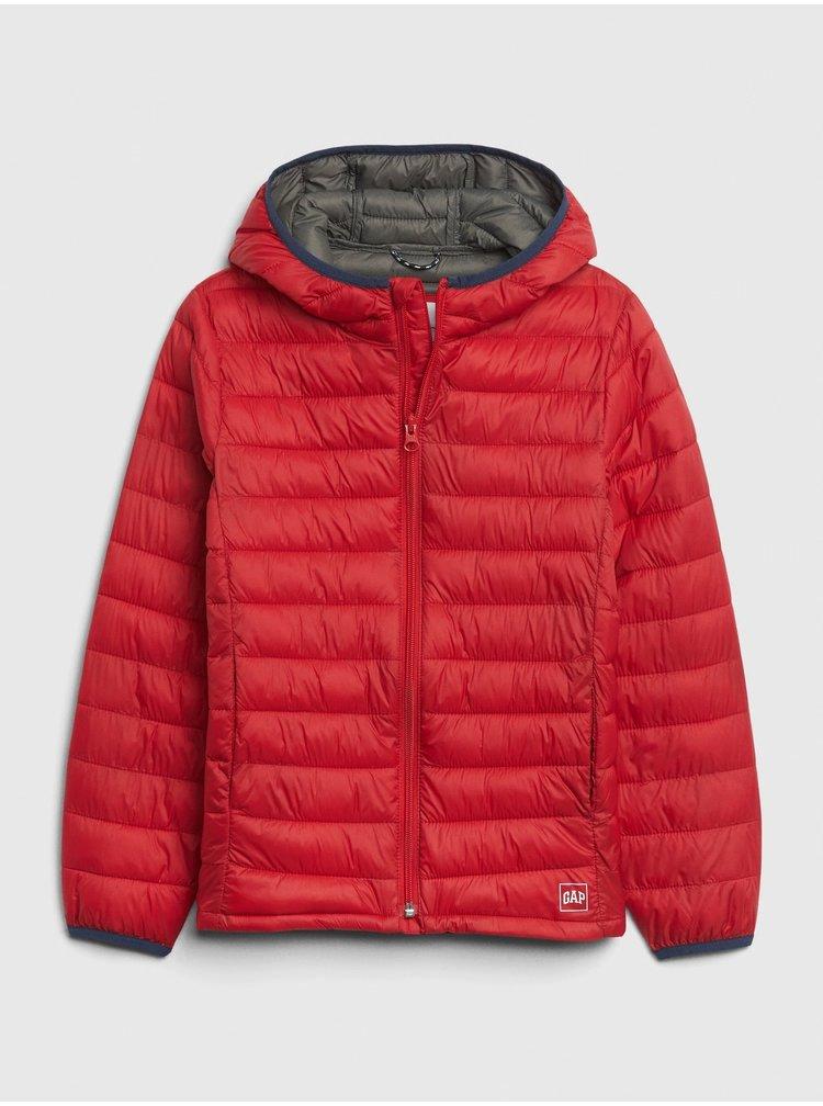 Červená klučičí bunda GAP