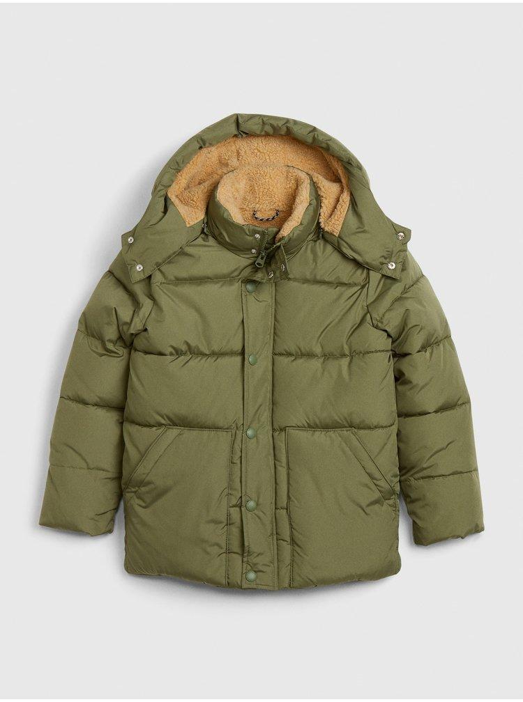 Zelená klučičí bunda GAP