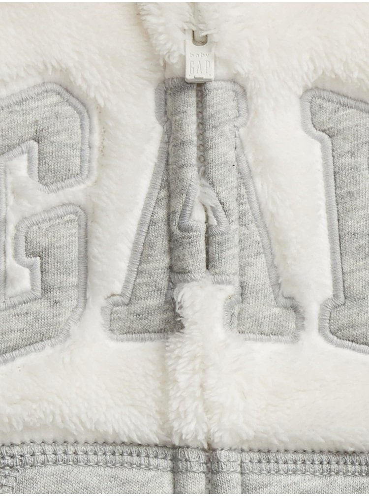 Béžová klučičí mikina GAP Logo