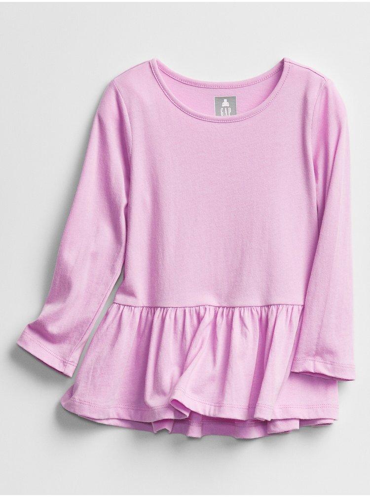Fialové holčičí šaty GAP