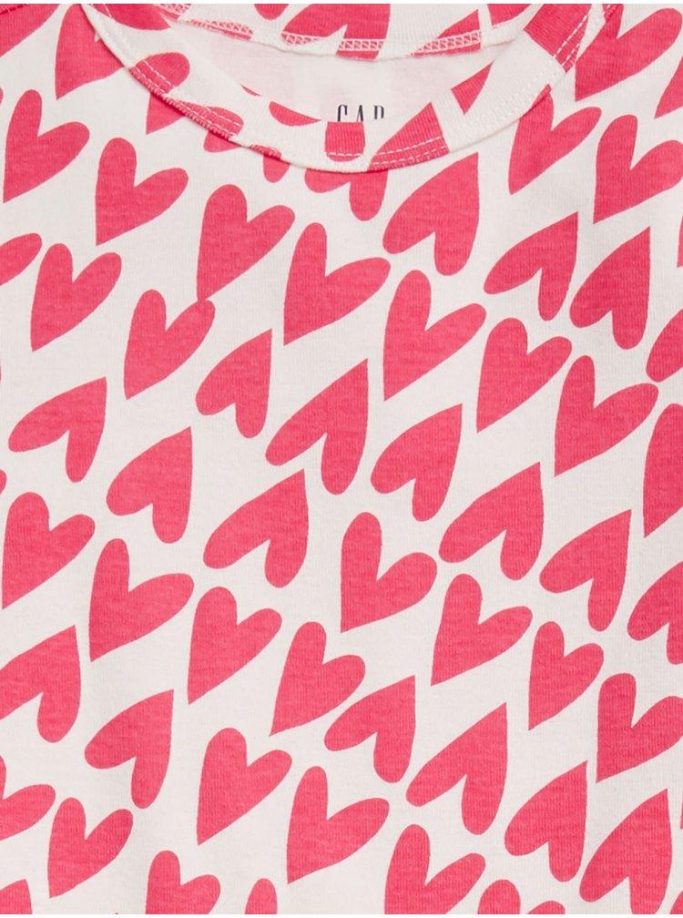 Růžové holčičí pyžamo GAP