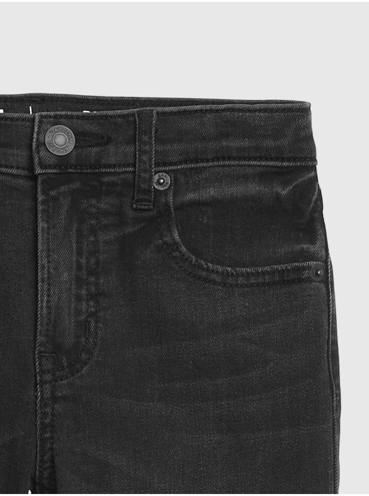 Černé holčičí džíny GAP Straight