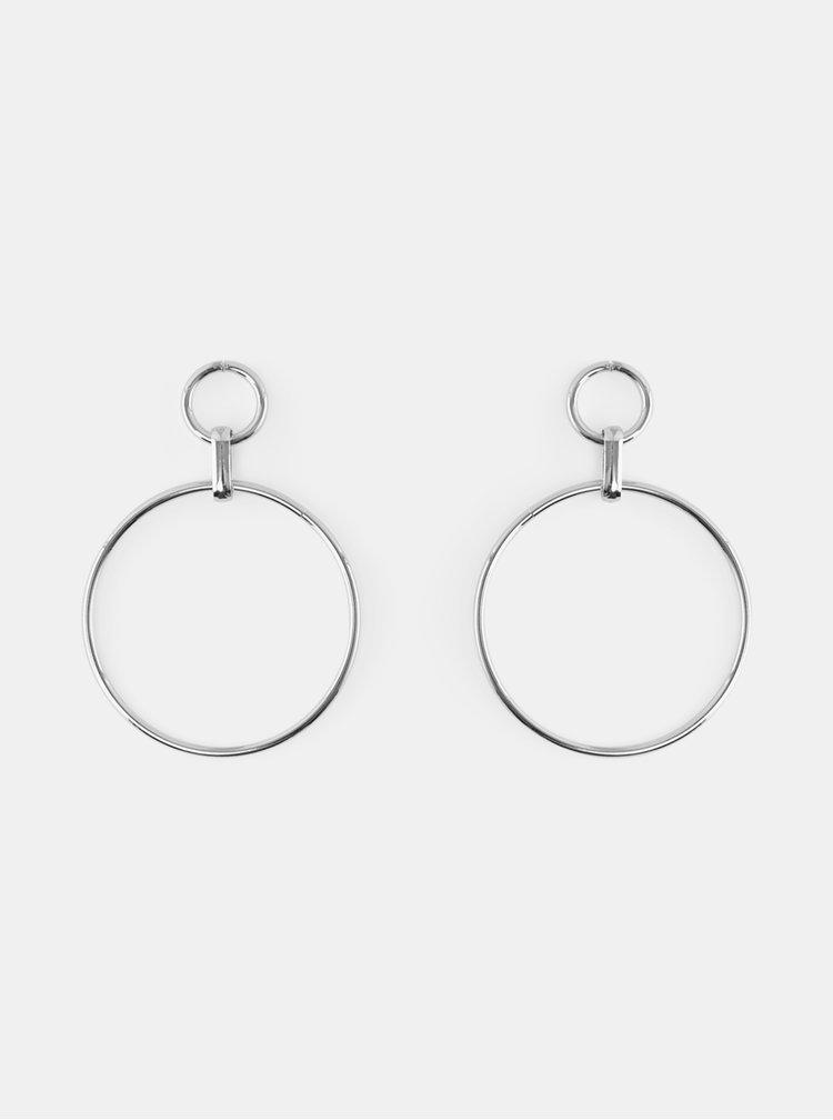 Cercei pentru femei Pieces - argintiu