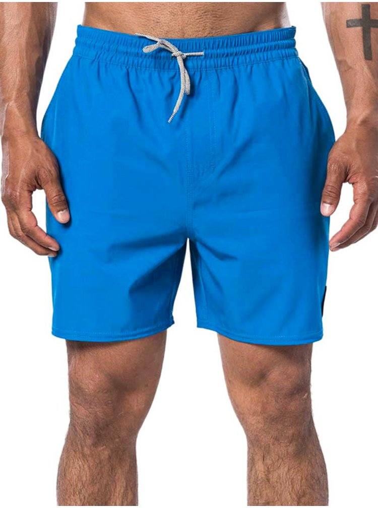 Rip Curl DAILY 16 blue pánské kraťasové plavky - modrá