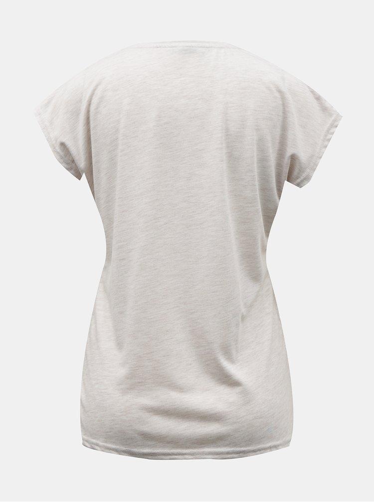 Tricouri pentru femei Hailys - bej