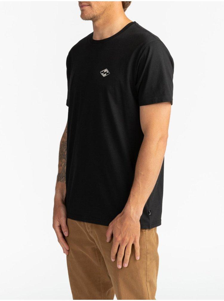 Billabong SURF REPORT black pánské triko s krátkým rukávem - černá