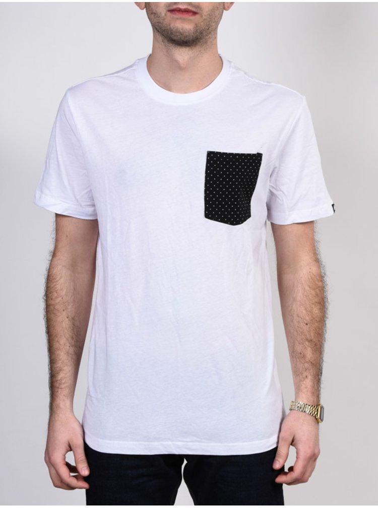 Etnies Operator white pánské triko s krátkým rukávem - bílá