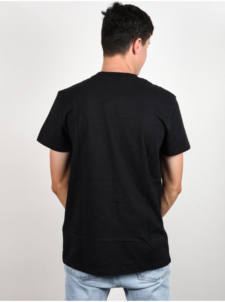 Dc TRESTNA black pánské triko s krátkým rukávem - bílá