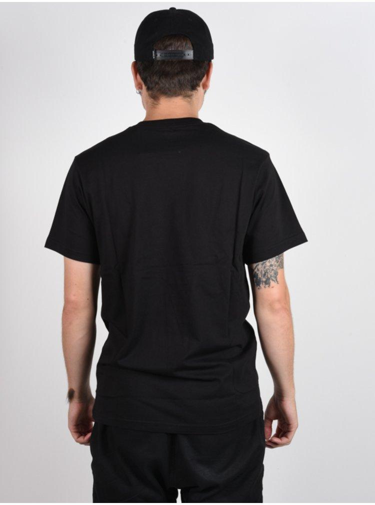 Vans VANS EASY BOX black/white pánské triko s krátkým rukávem - černá