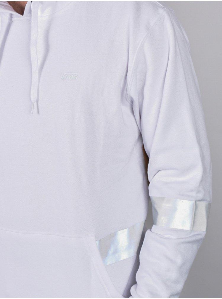 Vans REFLECTIVE white mikiny přes hlavu pánská - bílá