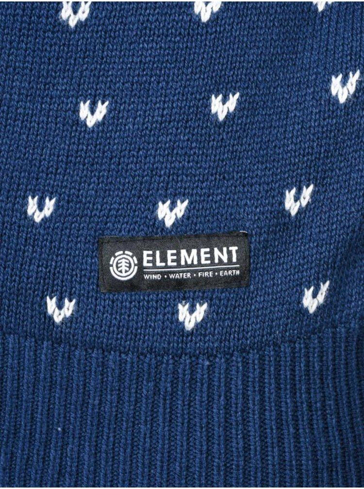 Element DOVER dark denim svetr pánský - modrá
