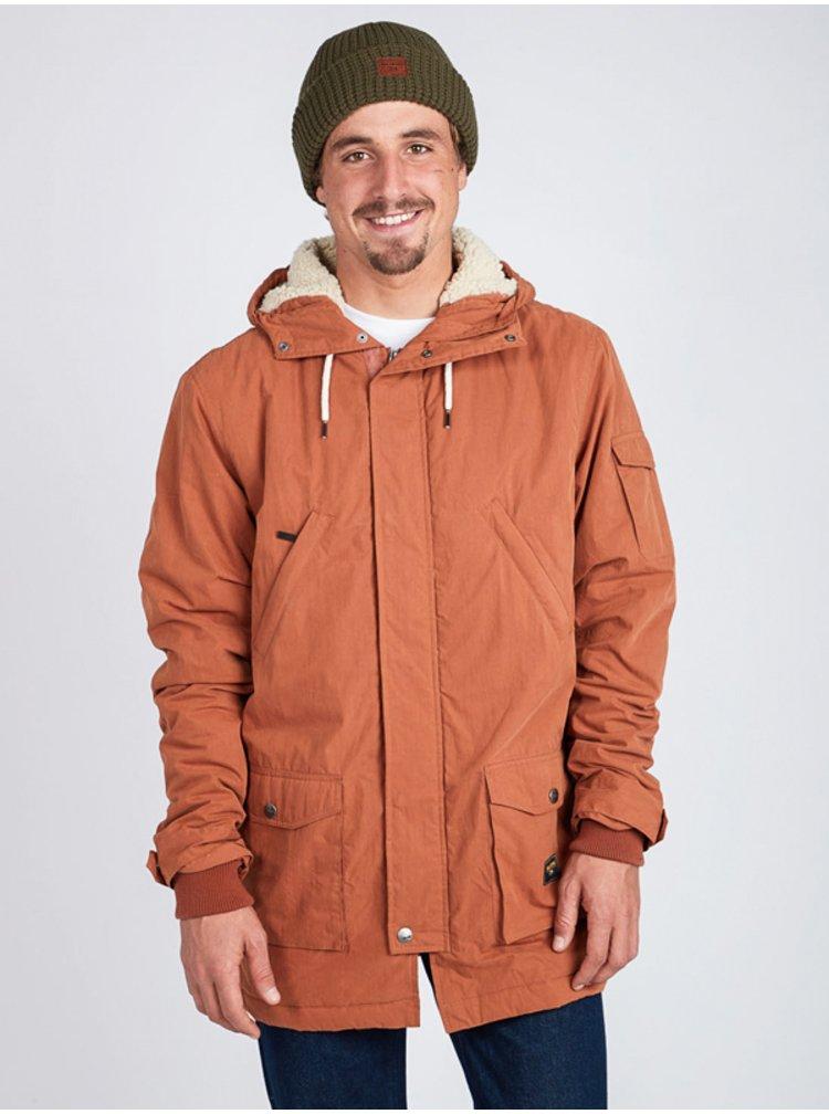 Billabong STAFFORD HAZEL zimní pánská bunda - hnědá