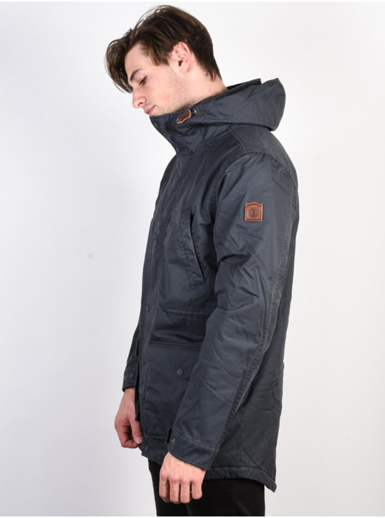 Element ROGHAN PLUS India Ink zimní pánská bunda - šedá