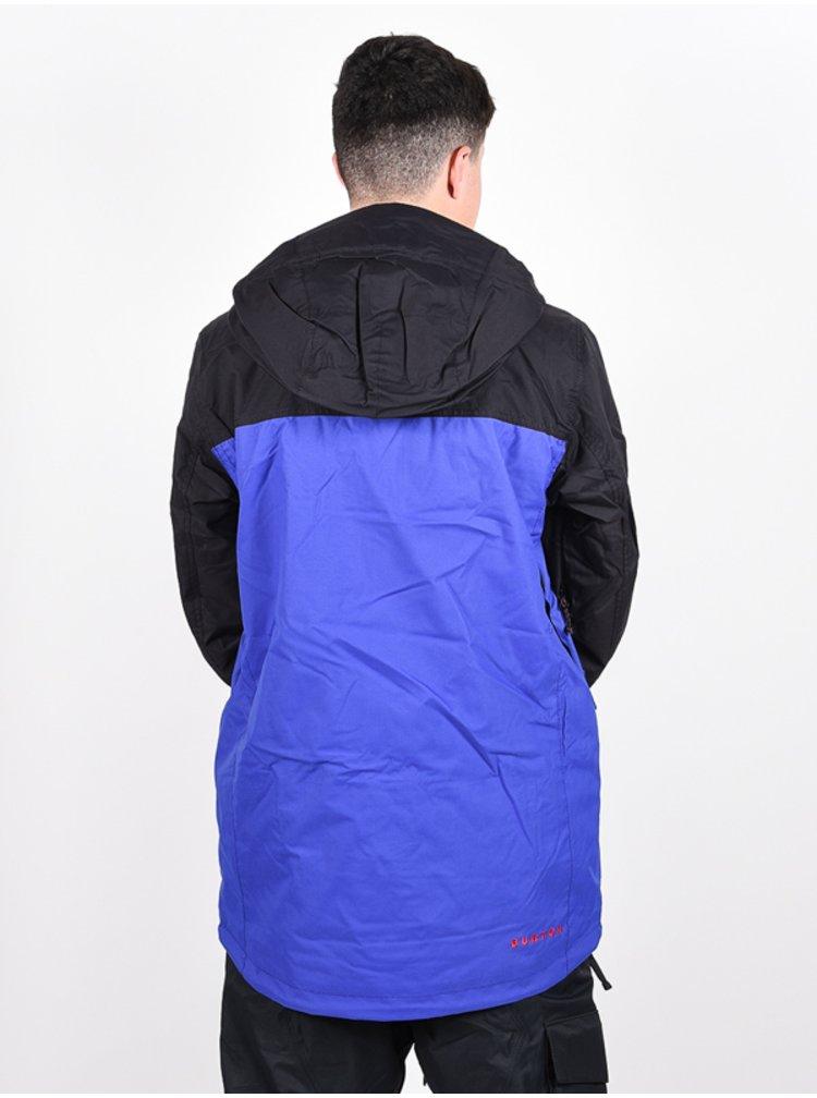 Burton COVERT ROYAL/TRUBLK zimní pánská bunda - černá