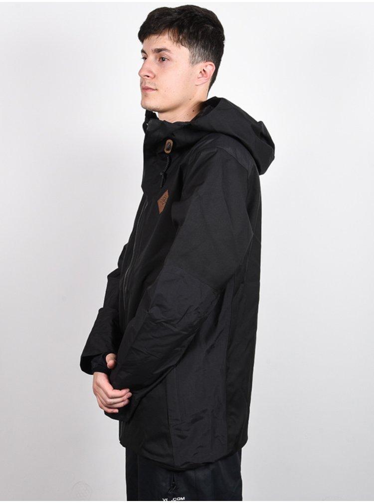 Rip Curl SEARCH JET BLACK zimní pánská bunda - černá