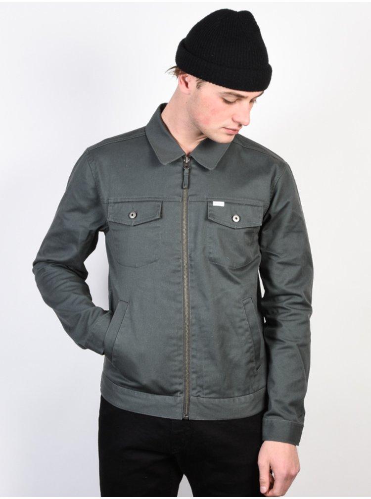RVCA SPANKY GREYSKULL podzimní bunda pro muže - šedá