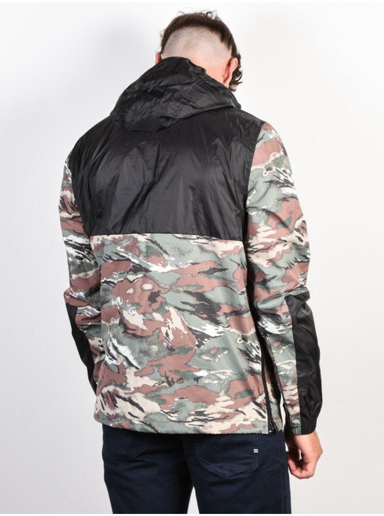 Element ALDER POP SAWTOOTH CAMO podzimní bunda pro muže - černá