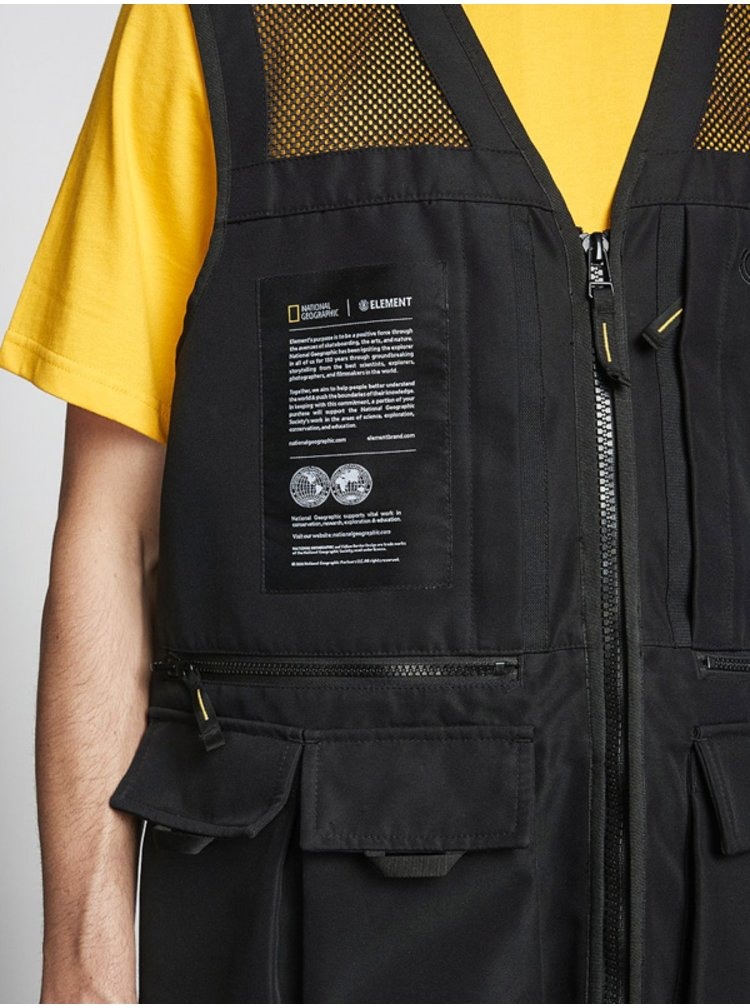 Černá pánská vesta Element AETHER FLINT National Geographic