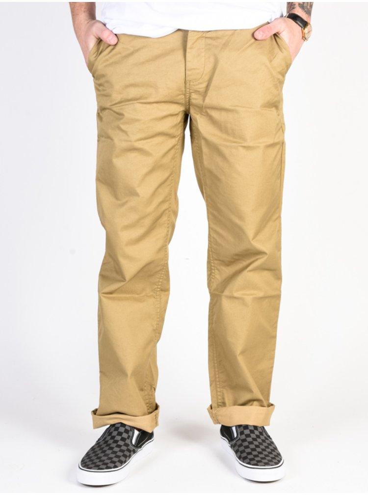 Dc WORKER RELAXED KHAKI plátěné kalhoty pánské - béžová