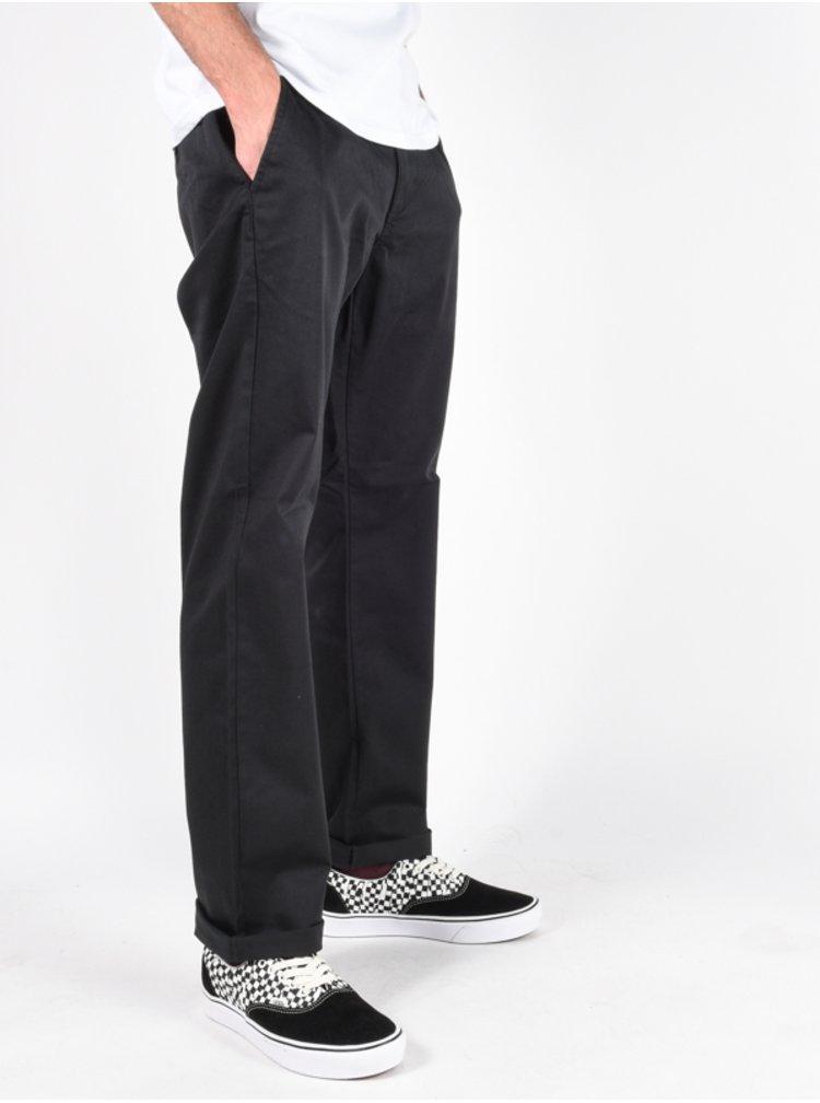 Billabong CARTER STRETCH CHINO black plátěné kalhoty pánské - černá